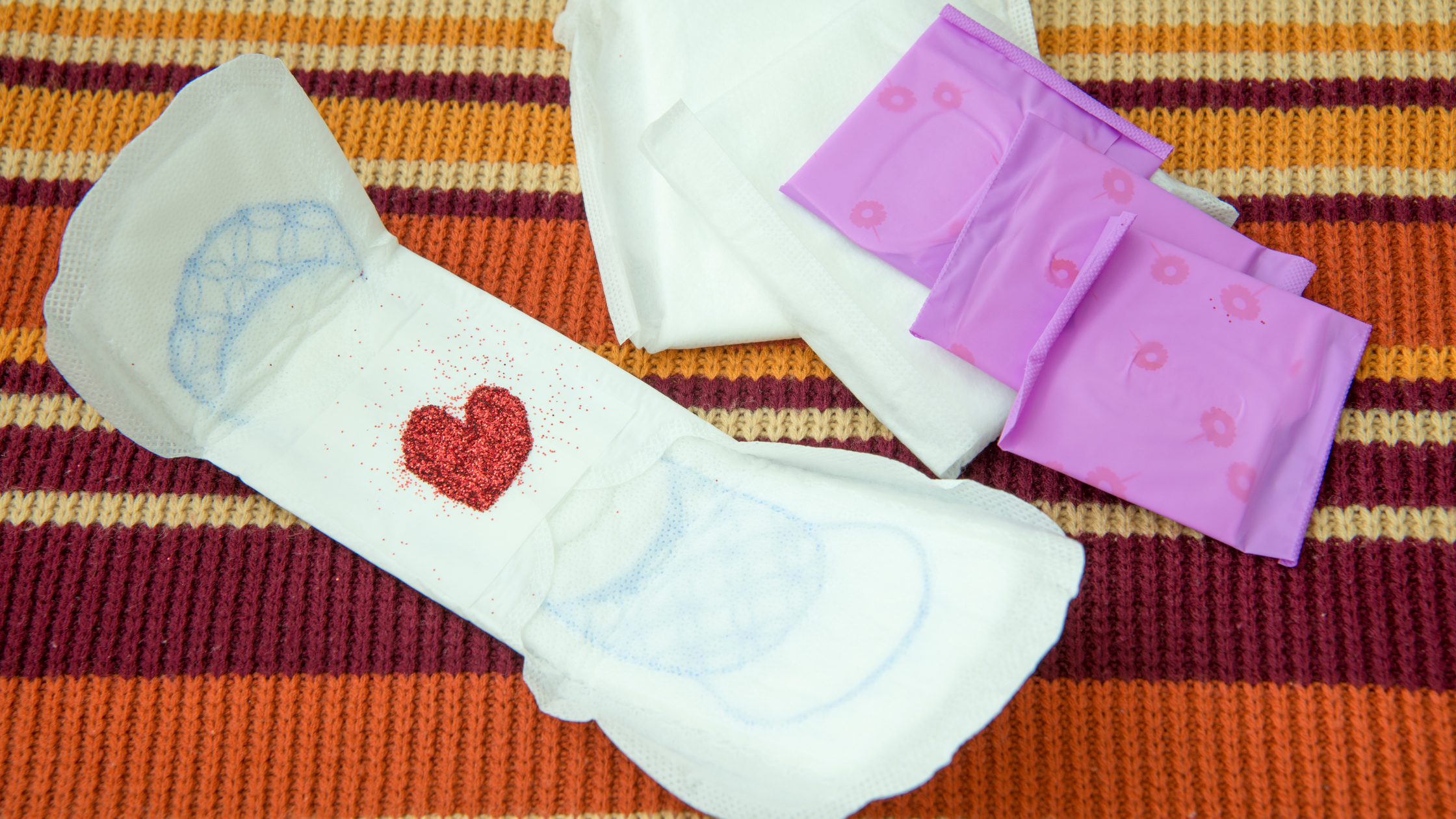 Etiquettes of Sanitary Napkins