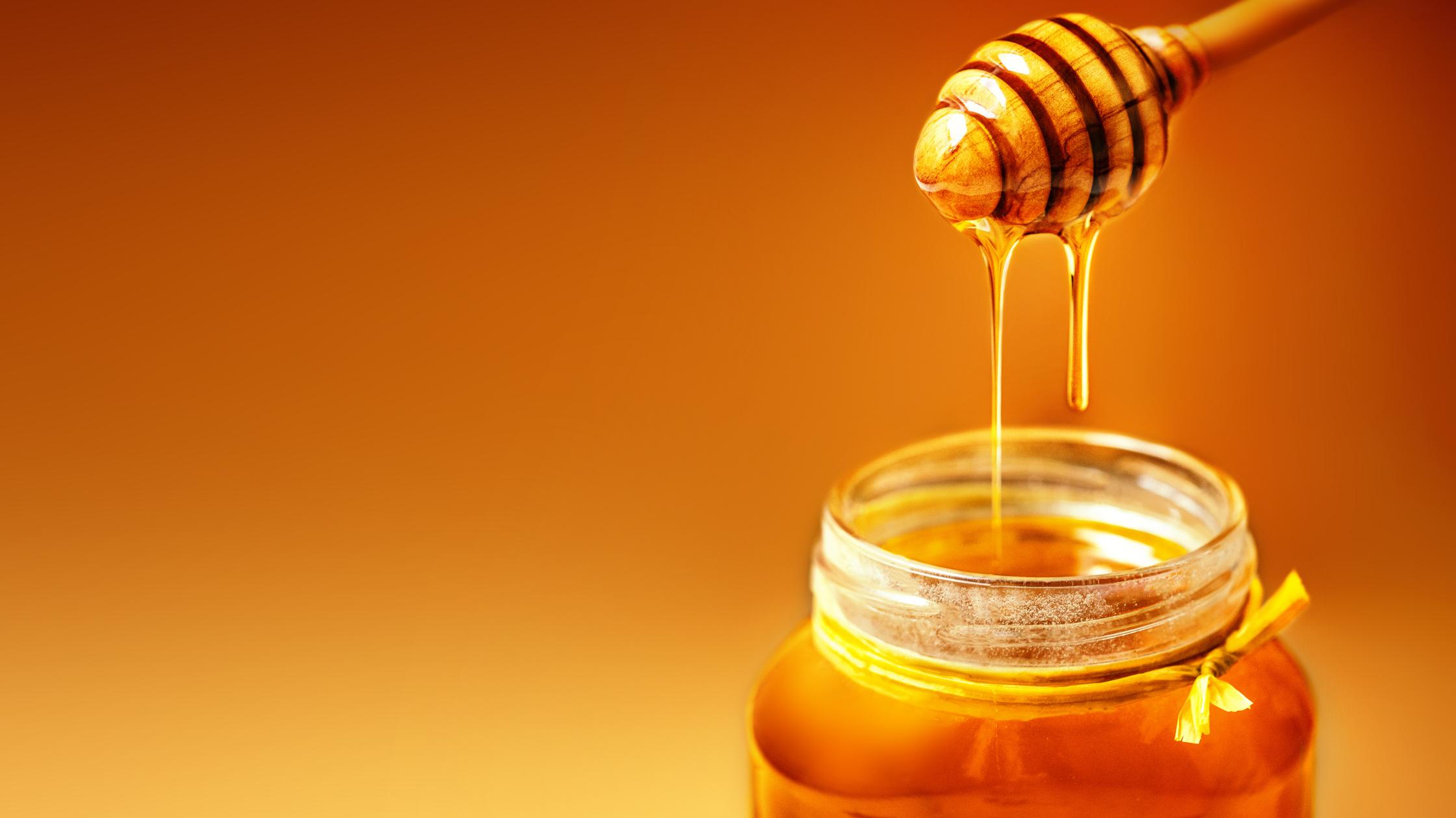 Honey during winter