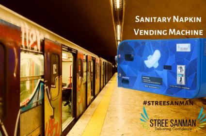 39 Metro Station in Chennai installs Sanitary Napkin Vending Machine.