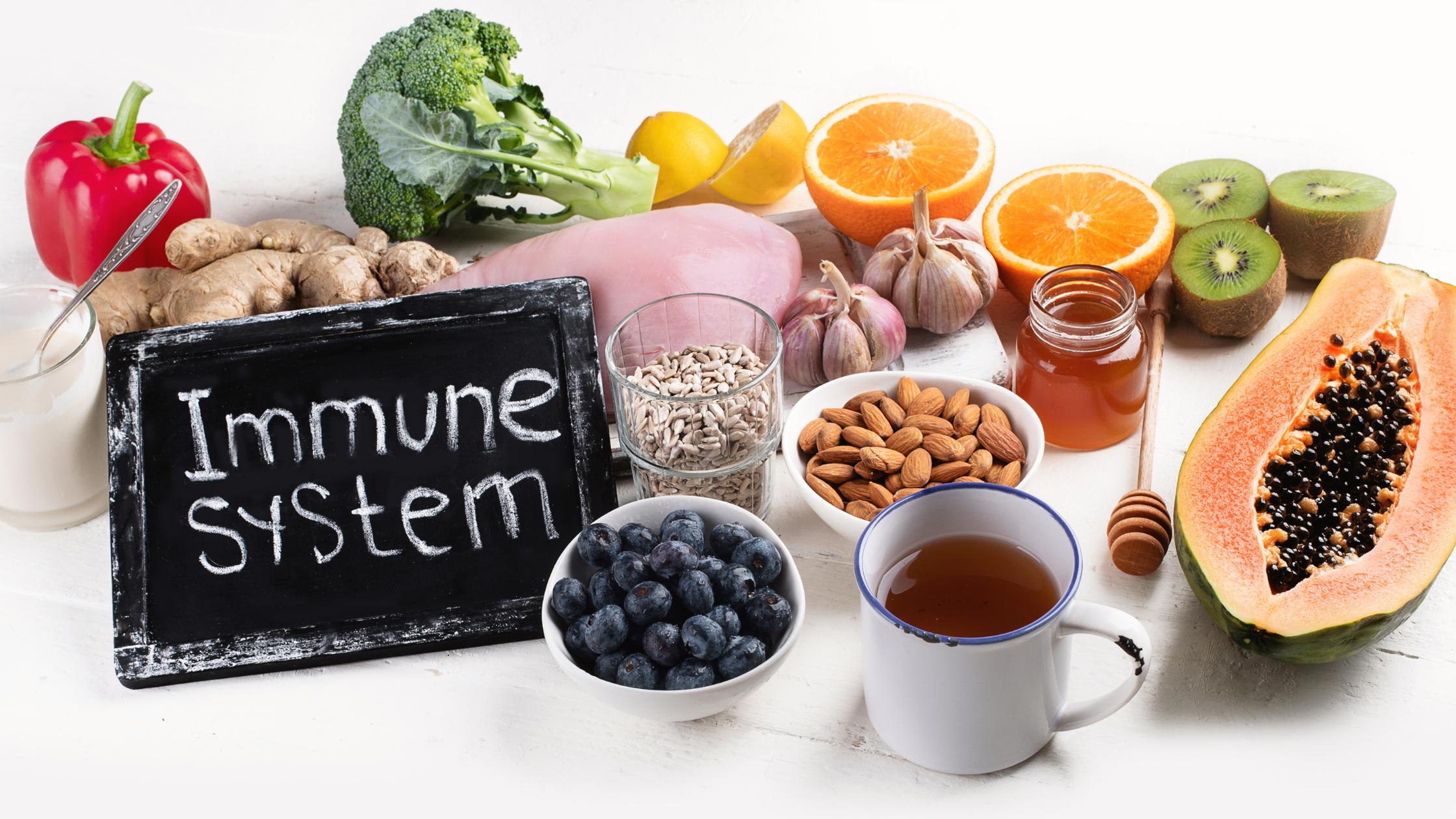 5 Immunity-Boosting foods