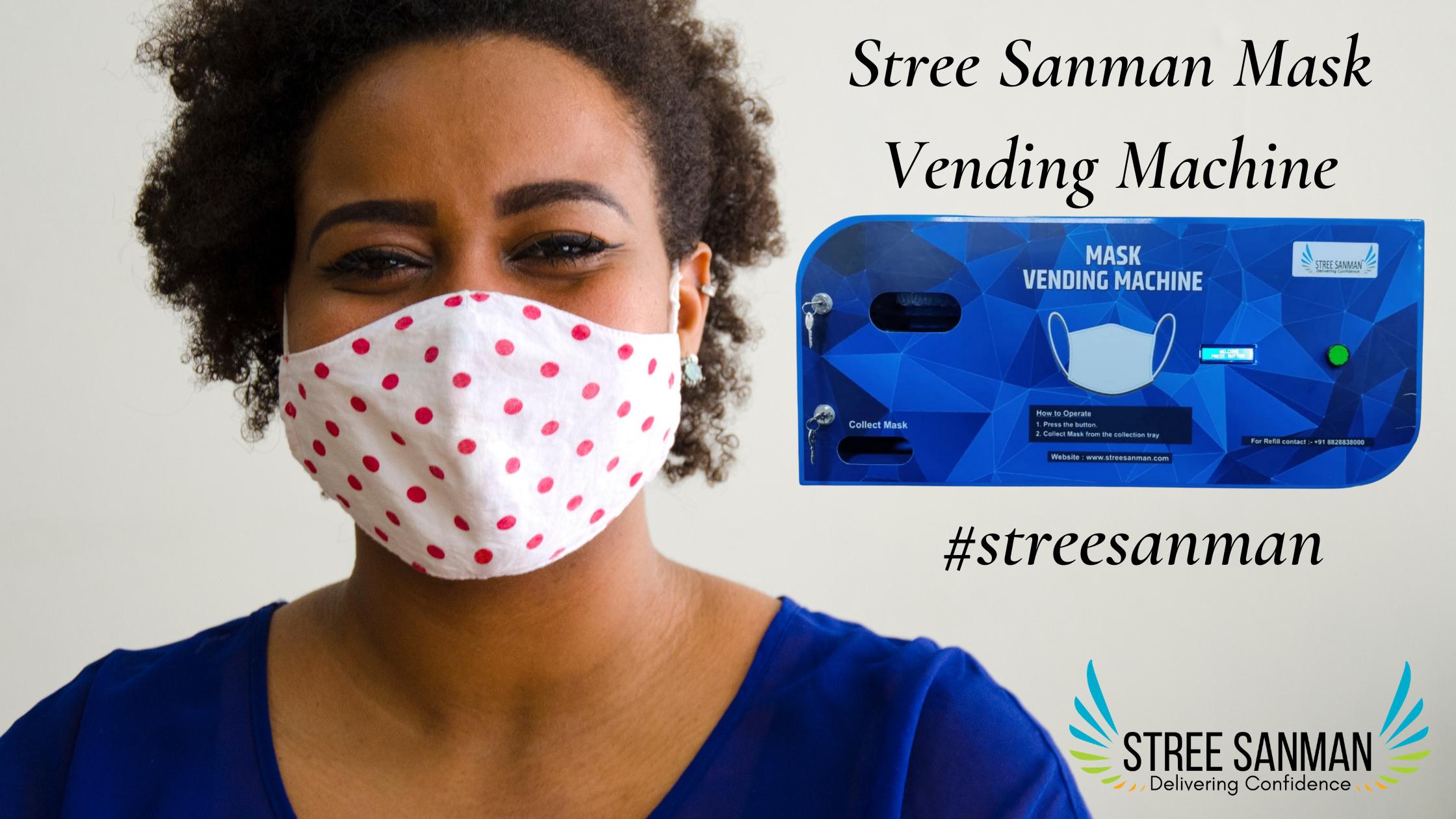 Stree Sanman Mask Vending Machine