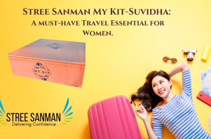 Stree Sanman My Kit-Suvidha A must-have Travel Essential for Women.