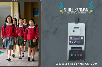 Installation of Stree Sanman Sanitary Napkin Incinerators in Schools