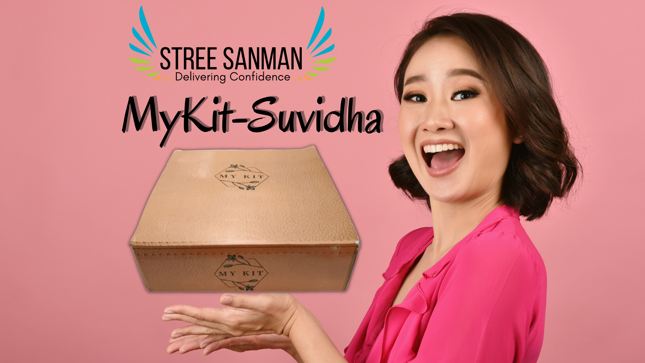 Stree Sanman MyKit-Suvidha a complete menstrual hygiene kit for women during periods.