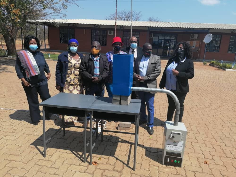 Stree Sanman donated Sanitary Napkin Smokeless Incinerators to Badale Junior School in Bobirwa District.